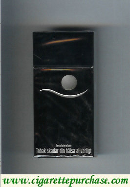 Blend black cigarettes Sweden