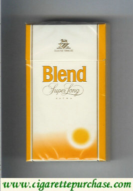 Blend super long cigarettes Selected Tobaccos Extra Sweden