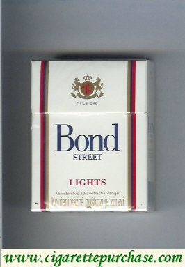 Bond Street Lights cigarettes short USA
