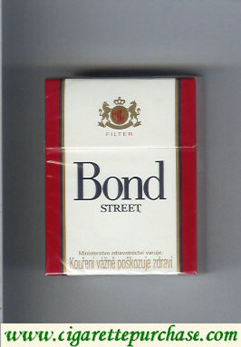 Bond Street cigarettes