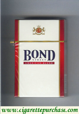 Bond Street cigarettes American Blend Russia USA