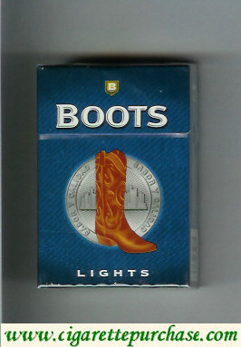 Boots Lights cigarettes hard box Mexico