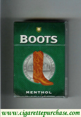 Boots Menthol cigarette hard box Mexico