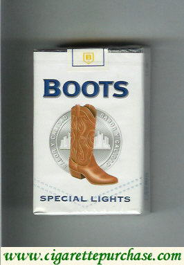 Boots Special Lights cigarettes Mexico