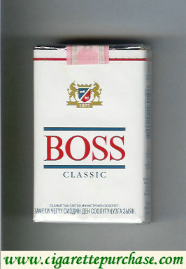 Boss Classic cigarettes Germany