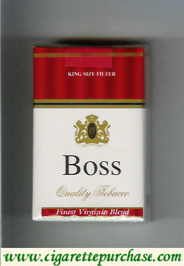 Boss Finest Virginia Blend cigarettes England