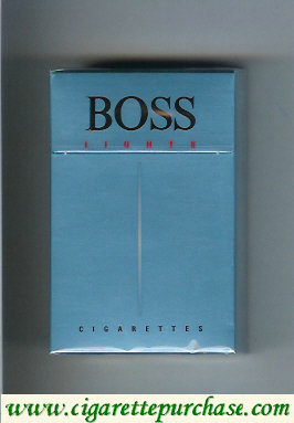 Boss Lights cigarettes Germany