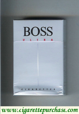 Boss Ultra cigarettes Germany