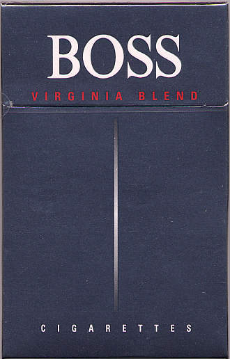 Boss Virginia Blend cigarettes Germany