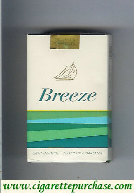 Breeze Light Menthol cigarettes USA