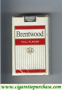 Brentwood Full Flavor cigarettes USA
