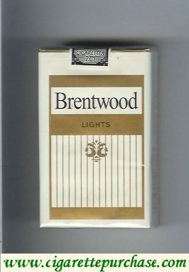Brentwood Lights cigarettes USA
