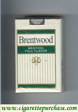 Brentwood Menthol cigarettes Full Flavor USA