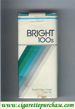 Bright 100s cigarettes 12 USA