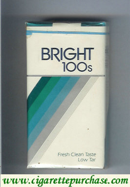 Bright 100s cigarettes USA