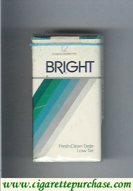 Bright cigarettes low tar USA