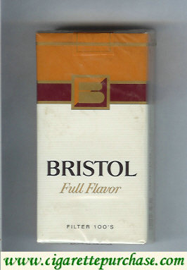 Discount Bristol 100s cigarettes Full Flavor USA