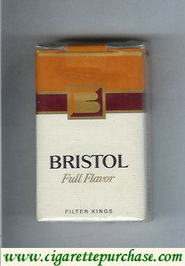 Discount Bristol Full Flavor cigarettes USA