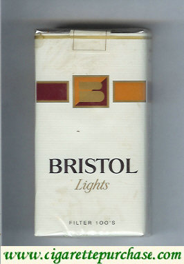 Discount Bristol Lights 100s cigarettes USA