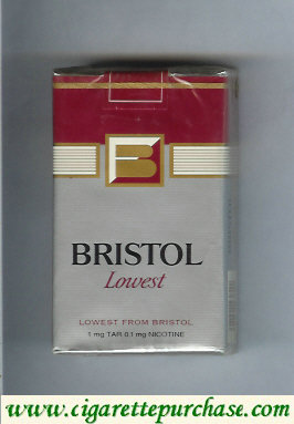 Discount Bristol Lowest cigarettes USA