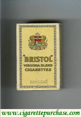 Discount Bristol Virginia Blend cigarettes England