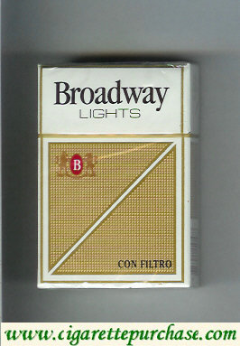 Broadway Con Filtro Lights cigarettes