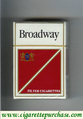 Broadway Filter Cigarettes Mexico