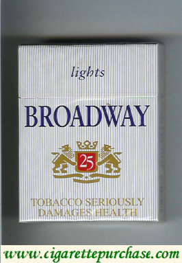 Broadway Lights 25 cigarettes USA Germany