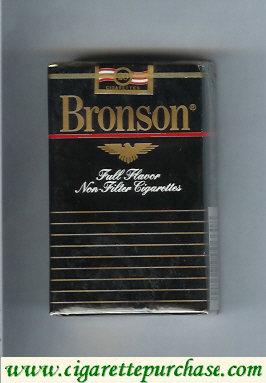 Discount Bronson Full Flavor Non-Filter cigarettes