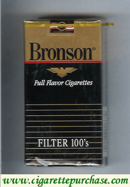 Discount Bronson Full Flavor filter 100s cigarettes