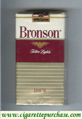 Bronson Lights 100s cigarettes