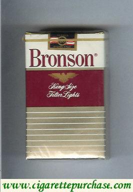 Discount Bronson Lights cigarettes soft box