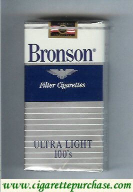 Bronson Ultra Light 100s cigarettes