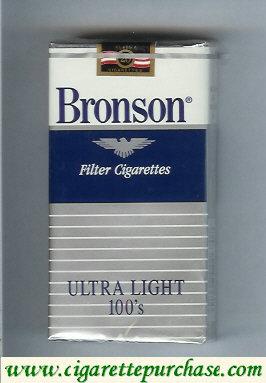 Discount Bronson Ultra Light 100s cigarettes