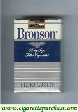 Bronson Ultra Lights cigarettes