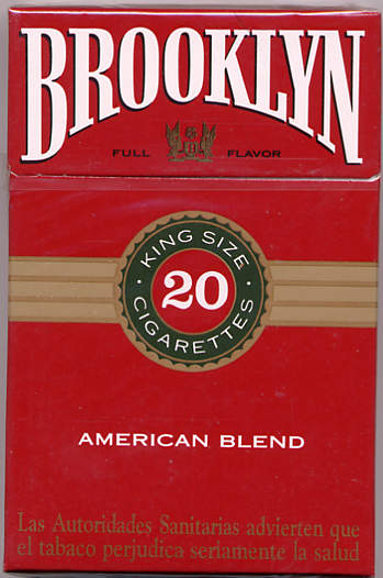 Brooklyn American Blend cigarettes king size 20