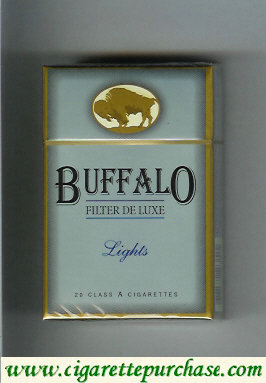 Discount Buffalo Lights cigarerttes Filter De Luxe