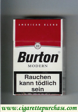 Discount Burton Modern cigarette American Blend Germany