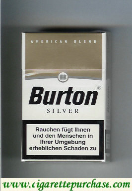 Discount Burton Silver cigarette American Blend Germany