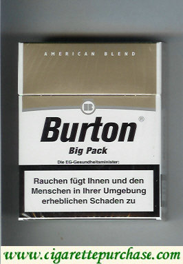Discount Burton big pack cigarettes Germany