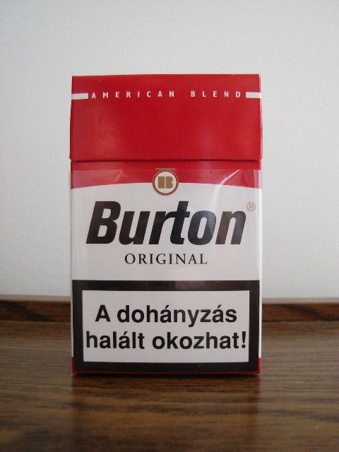 Discount Burton original cigarette Full Flavor American Blend