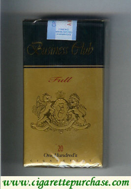 Business Club Full long cigarettes Yugoslavia England