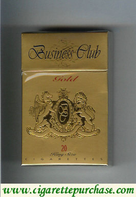 Business Club Gold cigarettes