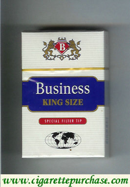 Business king size cigarettes Special Filter Tip Worldwide Business