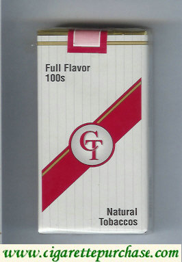 Discount CT Full Flavor 100s cigarettes natural tobaccos