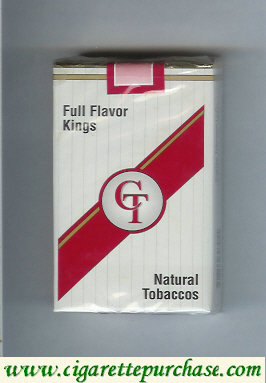 Discount CT Full Flavor cigarettes kings natural tobaccos