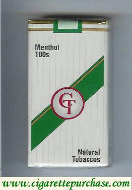 Discount CT Menthol 100s cigarettes