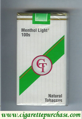 Discount CT Menthol Light 100S Cigarettes