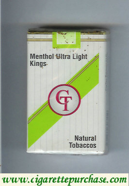 Discount CT Menthol Ultra Light cigarettes