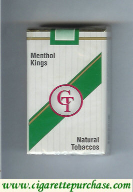 Discount CT Menthol kings cigarettes